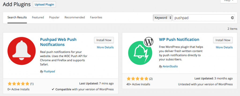 Wordpress add plugin
